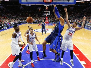 Dallas Mavericks vs Philadelphia 76ers