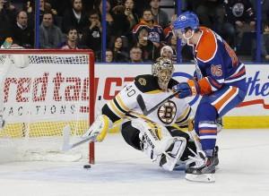 Boston Bruins at Edmonton Oilers