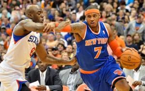 New York Knicks at Philadelphia 76ers