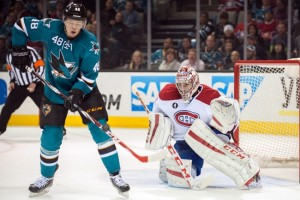 San Jose Sharks at Montreal Canadiens