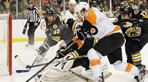 Boston Bruins at Philadelphia Flyers