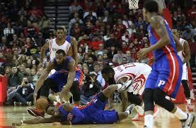 Detroit Pistons at Houston Rockets