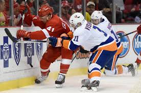 Detroit Red Wings at NY Islanders