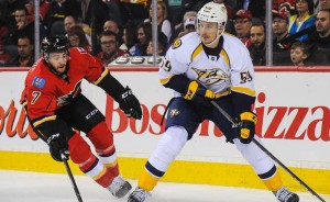 Nashville Predators at Calgary Flames