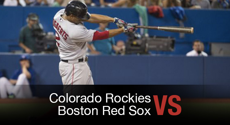 Colorado Rockies vs Boston Red Sox