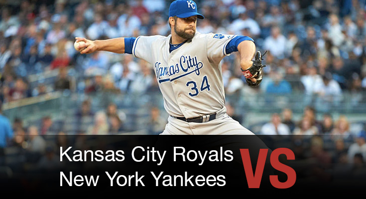 Kansas City Royals vs New York Yankees