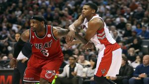 Miami Heat At Toronto Raptors
