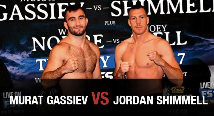 Murat Gassiev vs Jordan Shimmell