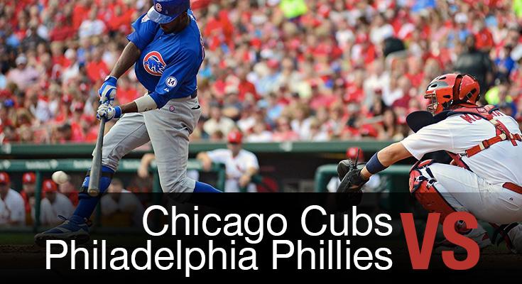 Chicago Cubs vs Philadelphia Phillies