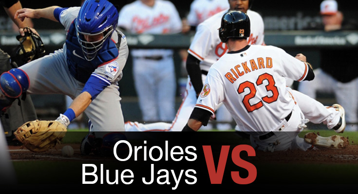 Orioles vs Blue Jays