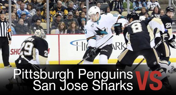 Pittsburgh Penguins vs San Jose Sharks