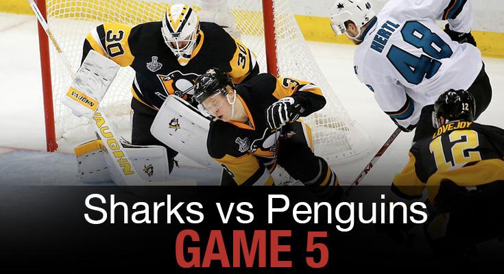 Sharks vs Penguins Game 5