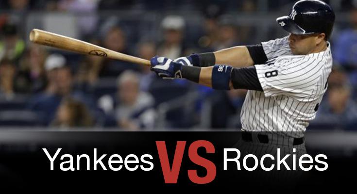 Yankees vs Rockies