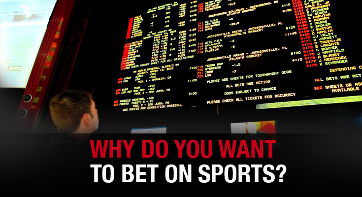 Why Do You Want To BET ON SPORTS