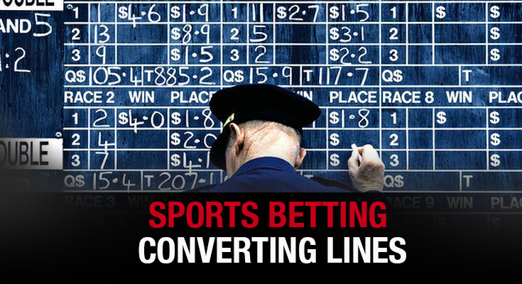 Sports Betting Converting Lines