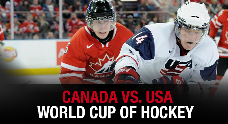 Canada vs. United States - World Cup of Hockey