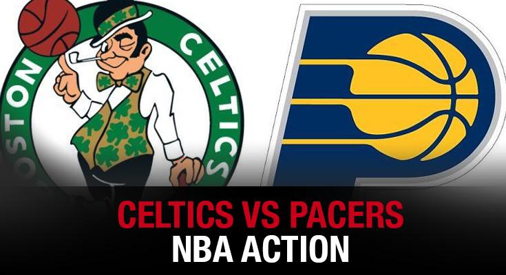 Celtics vs Pacers NBA Action