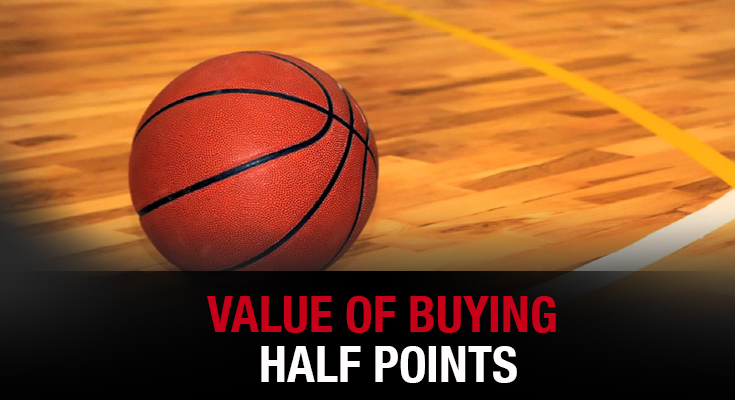 Value of Buying Half Points In a Sportsbook