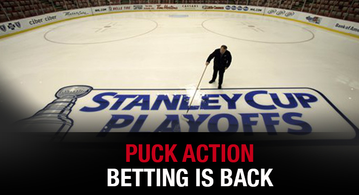 Puck Betting Action is Back