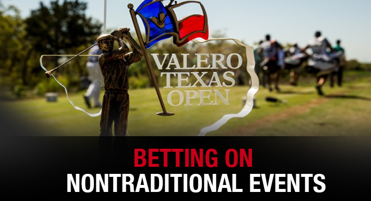 Betting on Nontraditional Events – Valero Texas Open