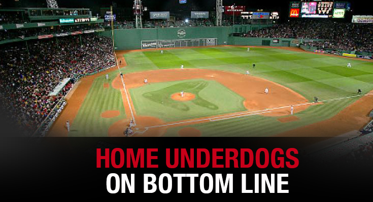Home Underdogs On Bottom Line