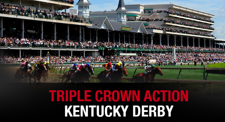 Triple Crown Action - Kentucky Derby
