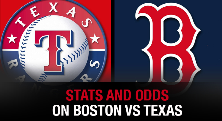 Stats and Odds on Boston vs. Rangers