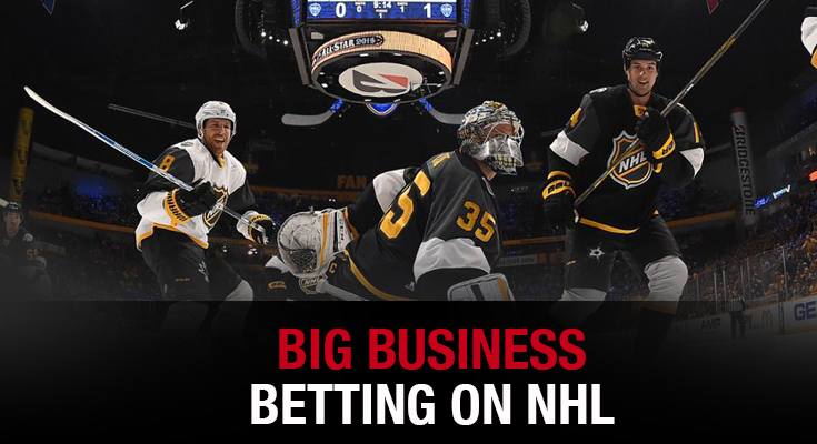 Big Business - Betting on NHL