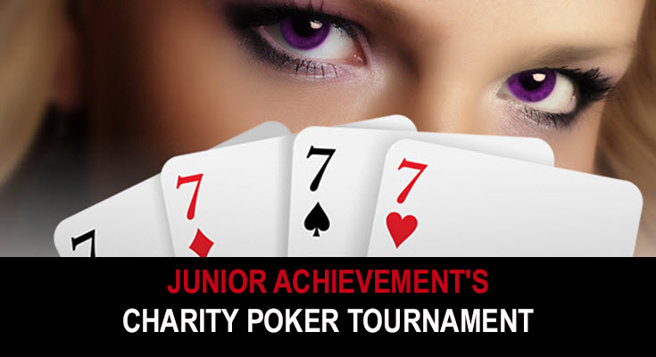 Junior Achievement's annual charity poker tournament