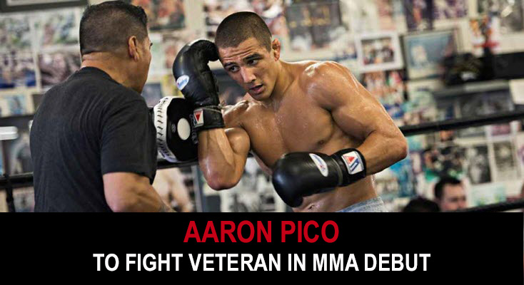 Aaron Pico to fight veteran in MMA debut