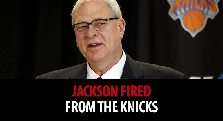 Fired President of the New York Knicks