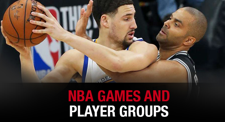 NBA Games and Players Groups