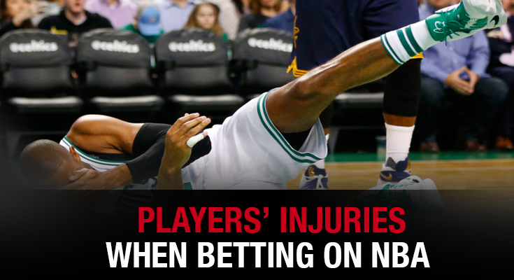 Players' Injuries When Betting on NBA Games