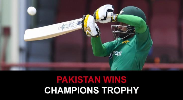 Pakistan's ICC Champions Trophy triumph