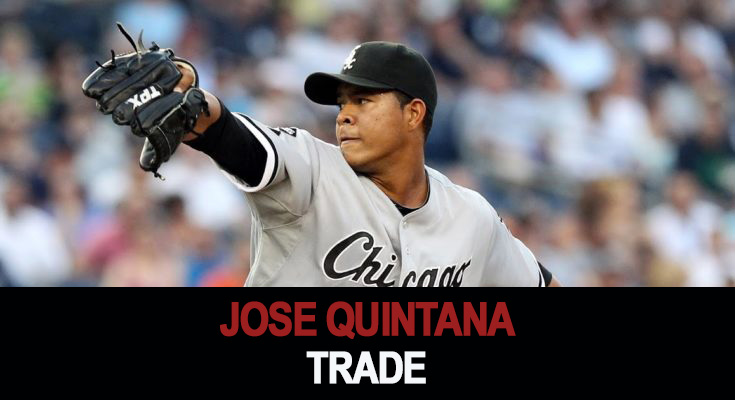 Cubs and White Sox trade Jose Quintana