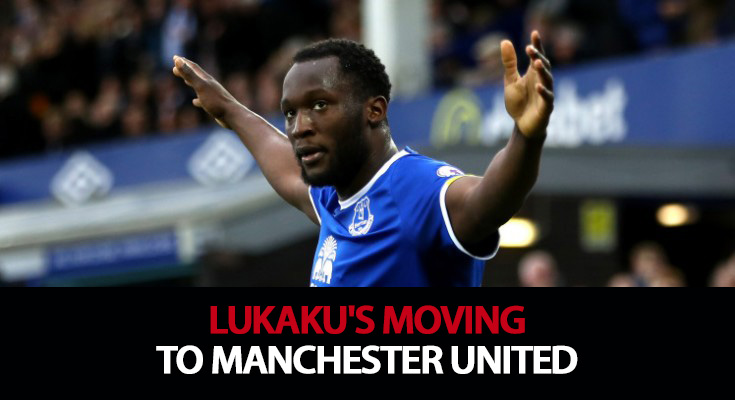 Lukaku's moving to Manchester United