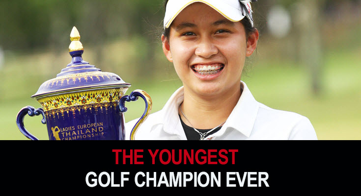 The youngest golf champion ever
